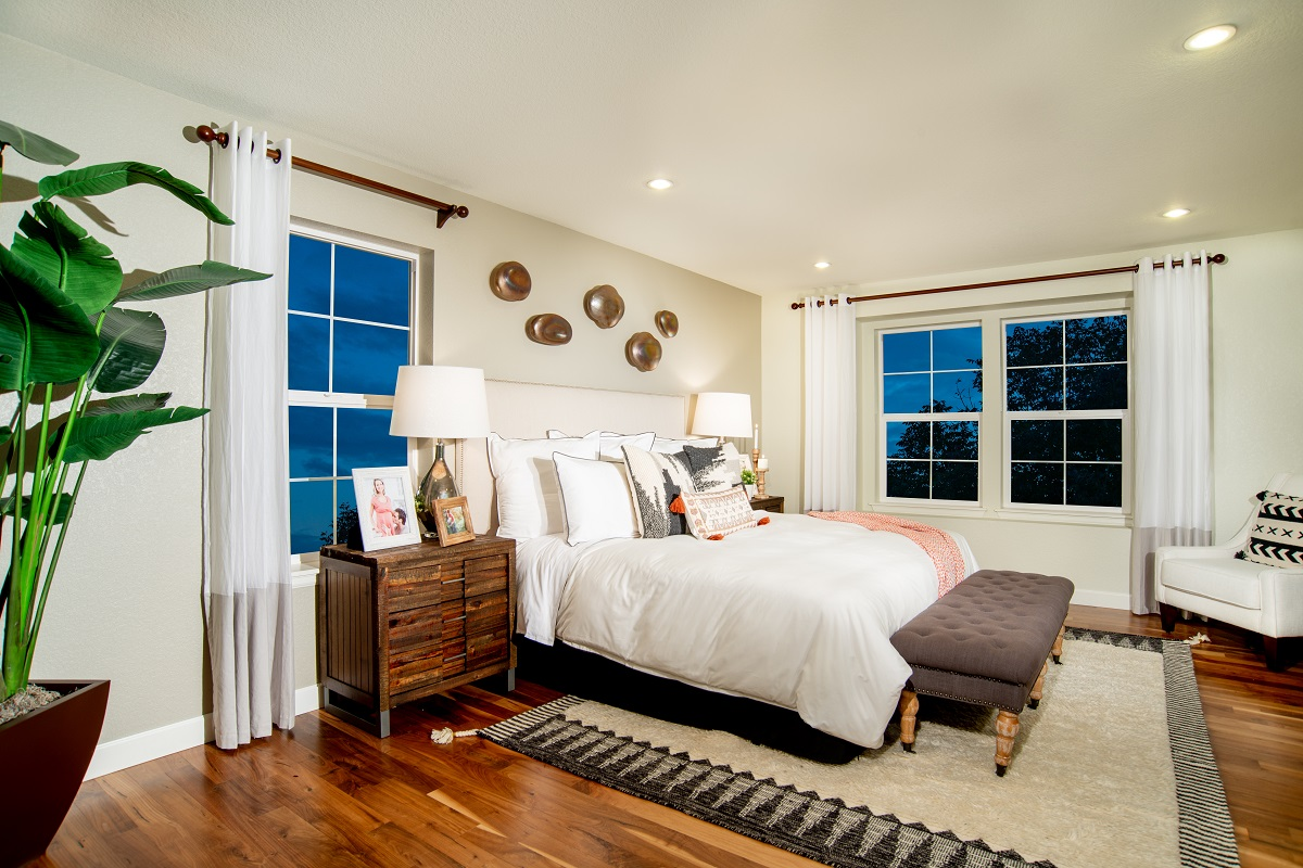New Homes in Dacono, CO - Sweetgrass Plan 2524 Modeled Master Bedroom