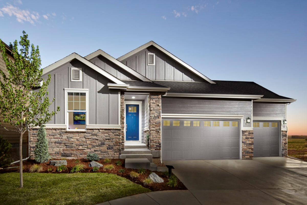 New Homes in Dacono, CO - Hawthorn Modeled