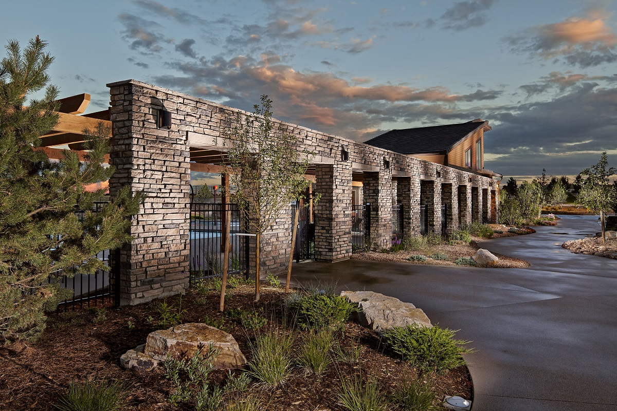 New Homes in Castle Rock, CO - Terrain - Ranch Villa Collection Terrain Swim Club