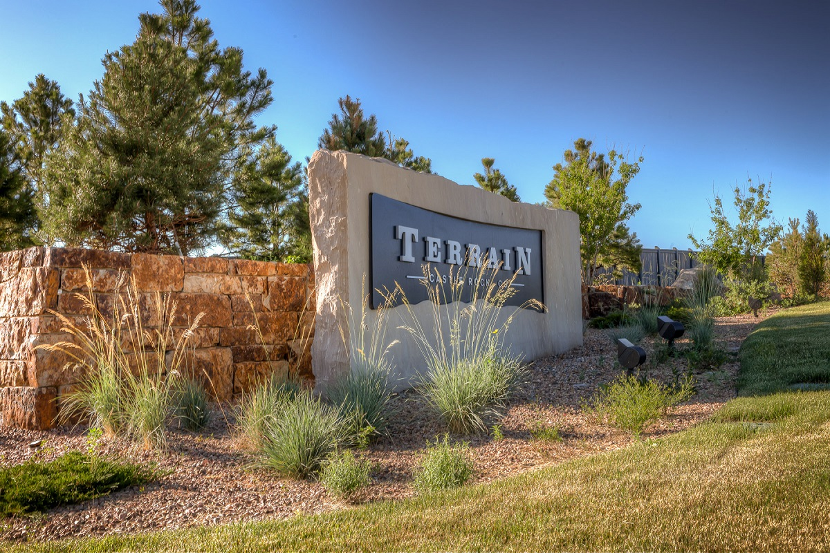 New Homes in Castle Rock, CO - Terrain - Ranch Villa Collection Terrain