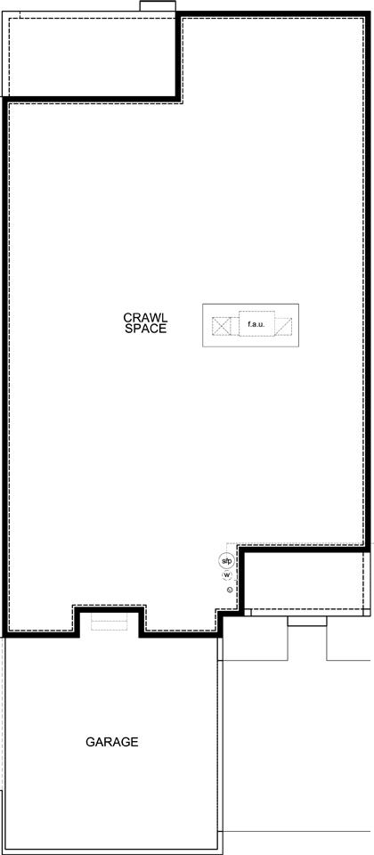 New Homes in Castle Rock, CO - Plan 1780 Modeled, Crawl Space
