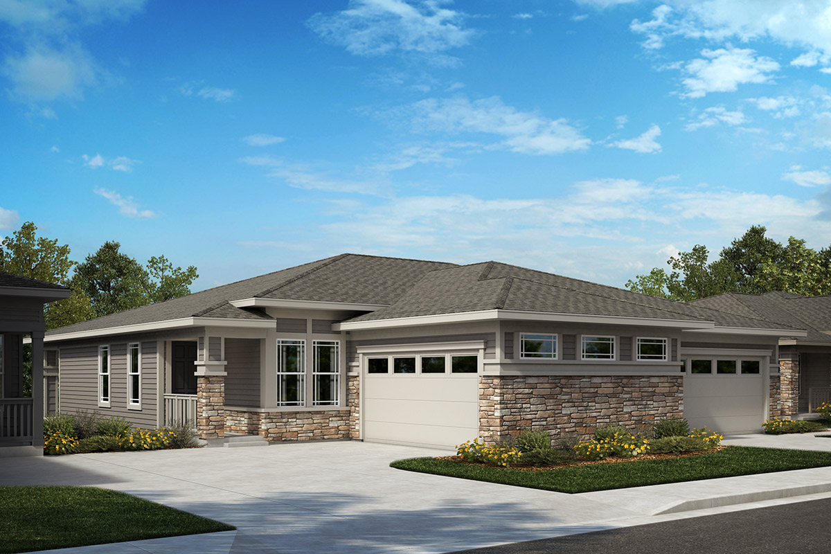 New Homes in Castle Rock, CO - Plan 1498 & Plan 1552 - Elevation B