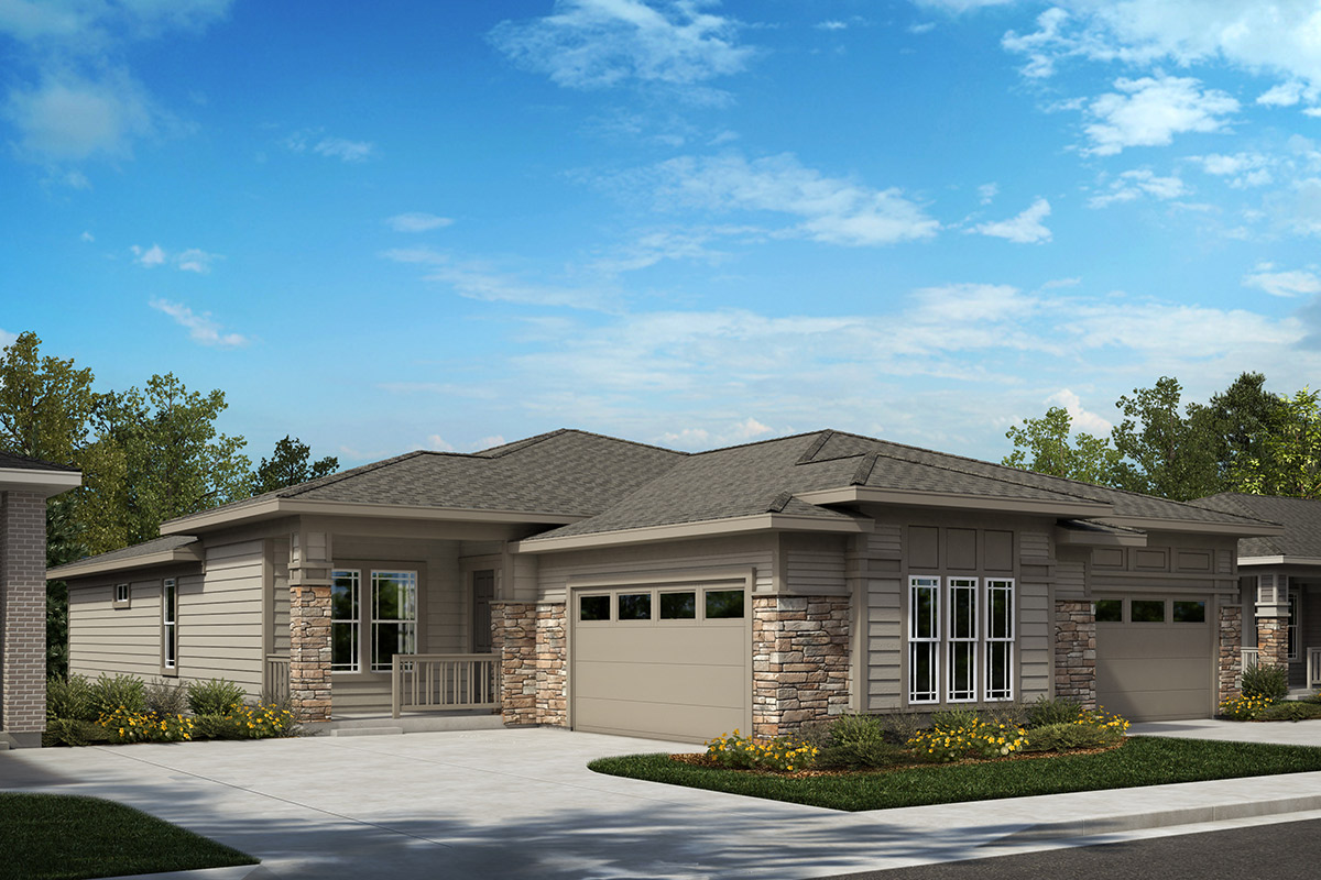 New Homes in Castle Rock, CO - Plan 1552 and Plan 1780 - Elevation B