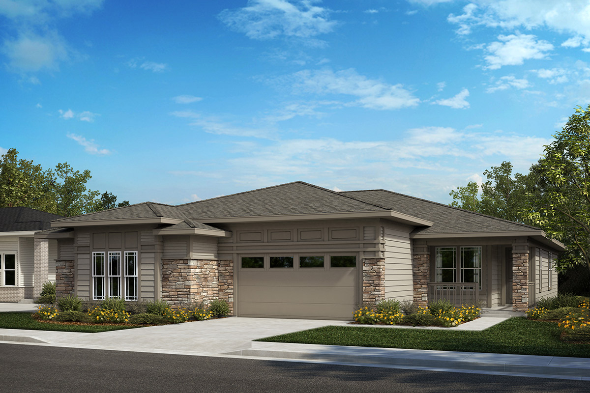 New Homes in Castle Rock, CO - Plan 1780 and Plan 1552 - Elevation B