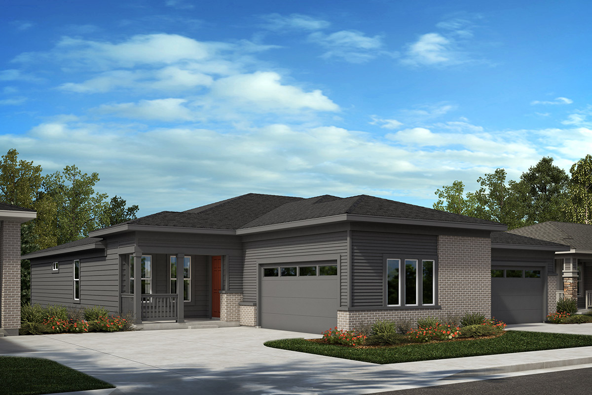 New Homes in Castle Rock, CO - Plan 1780 and Plan 1552 - Elevation C