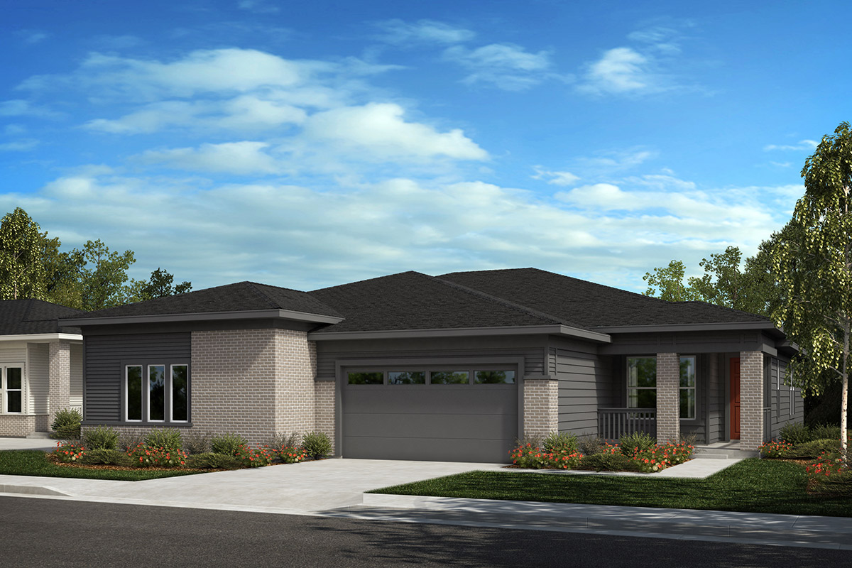 New Homes in Castle Rock, CO - Plan 1552 and Plan 1780 - Elevation C