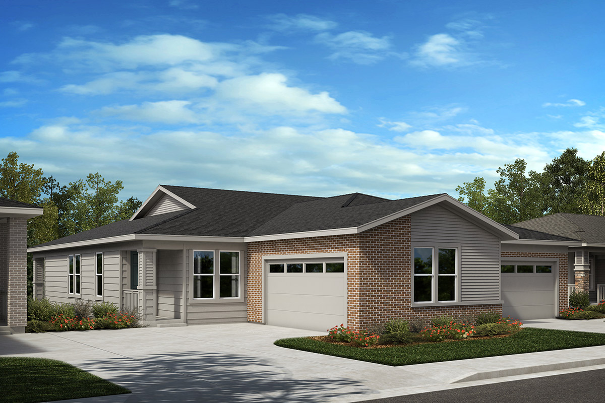 New Homes in Castle Rock, CO - Plan 1552 and Plan 1790 - Elevation C