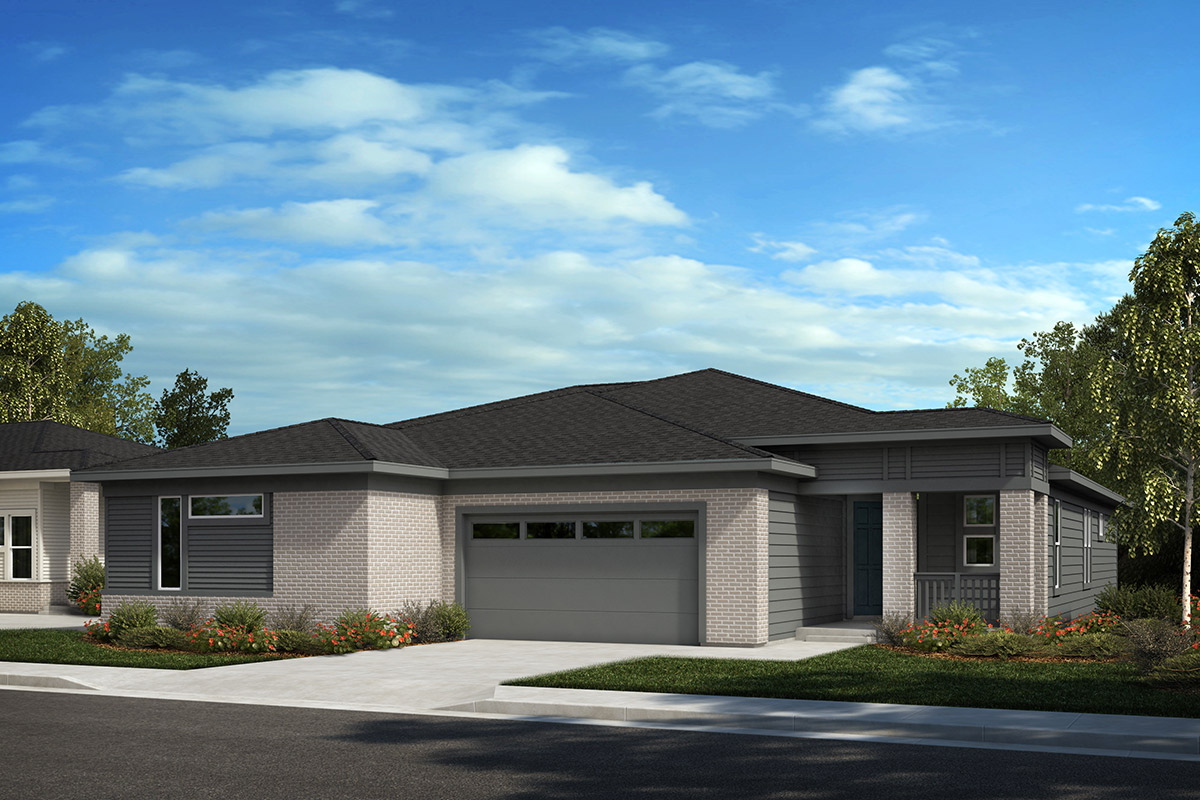 New Homes in Castle Rock, CO - Plan 1632 and Plan 1498 - Elevation C