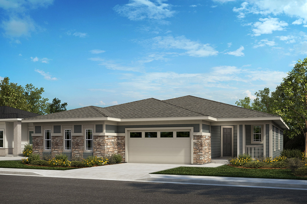 New Homes in Castle Rock, CO - Plan 1632 and Plan 1782 - Elevation B