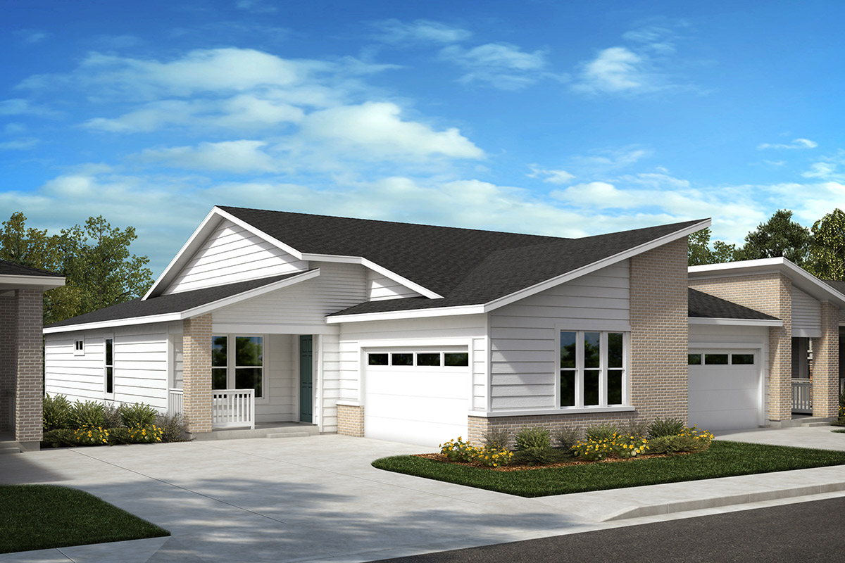 New Homes in Castle Rock, CO - Plan 1632 and Plan 1782 - Elevation C