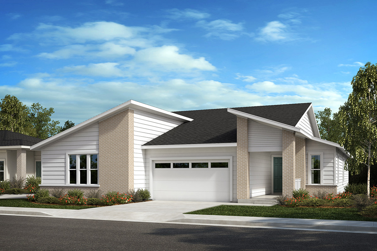 New Homes in Castle Rock, CO - Plan 1780 and Plan 1632 - Elevation C