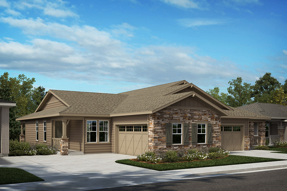 New Homes in Castle Rock, CO - Plan 1498 & Plan 1689 - Elevation A