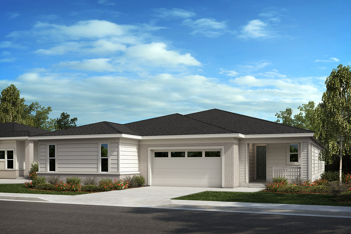 New Homes in Castle Rock, CO - Plan 1689 and Plan 1498 - Elevation C
