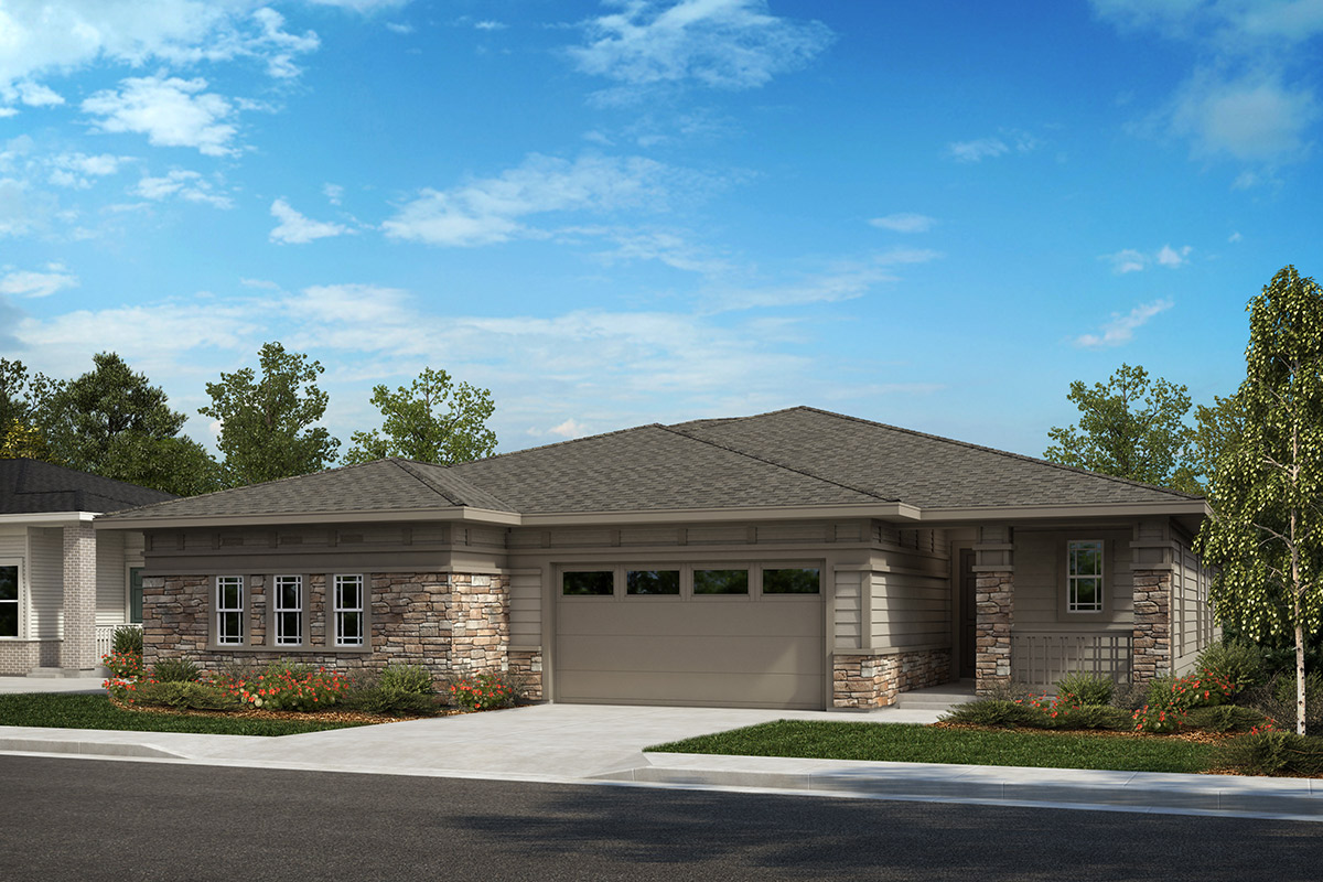 New Homes in Castle Rock, CO - Plan 1780 and Plan 1689 - Elevation B