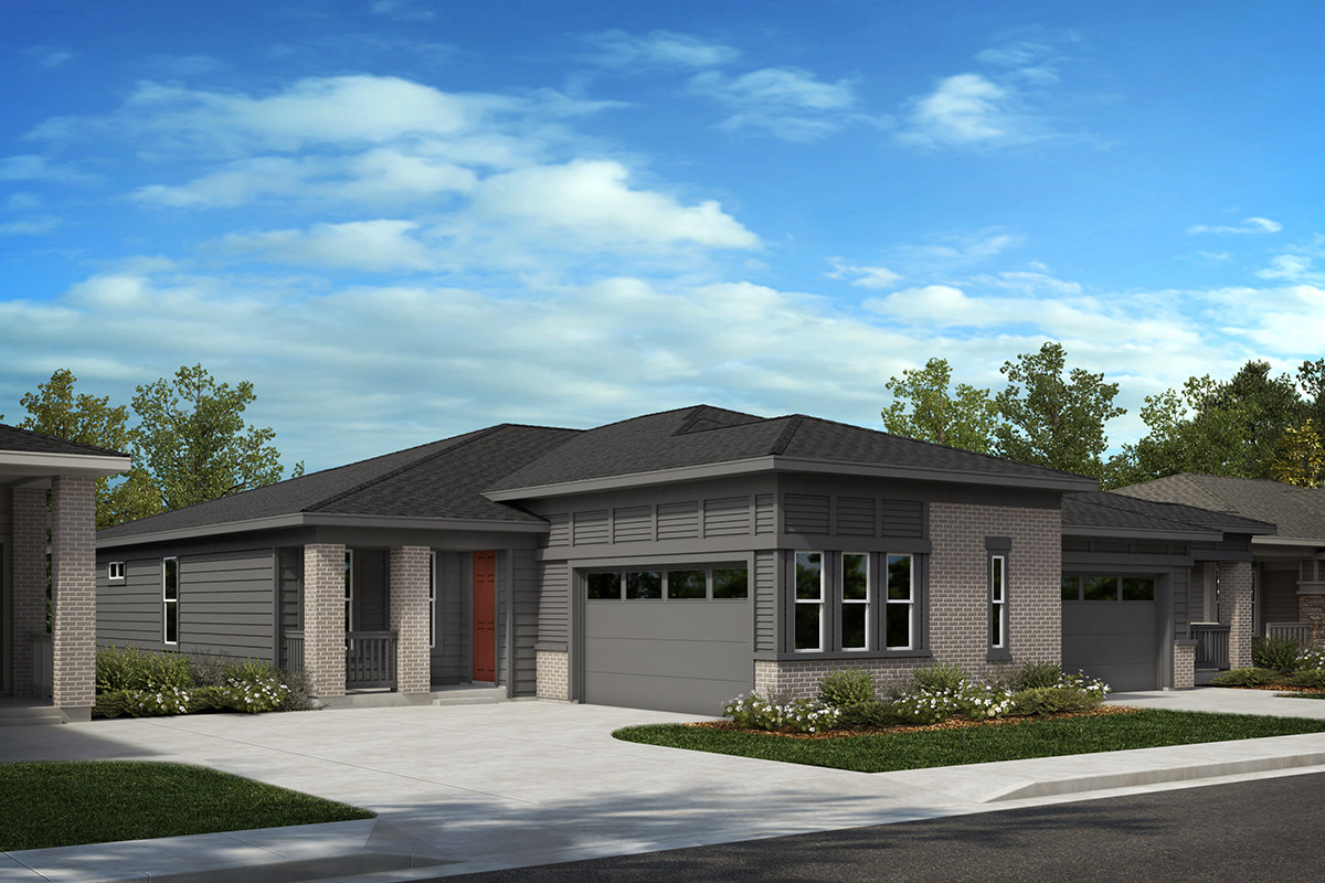 New Homes in Castle Rock, CO - Plan 1780 and Plan 1689 - Elevation C