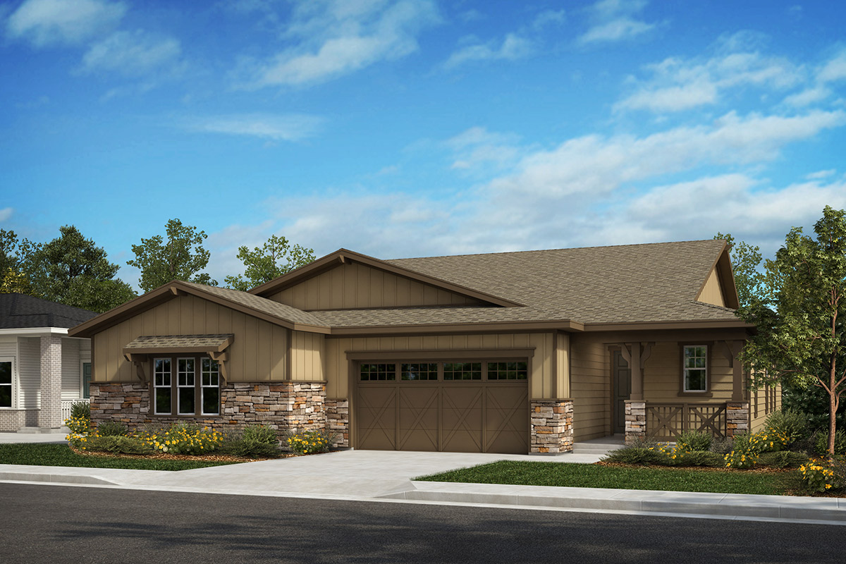 New Homes in Castle Rock, CO - Plan 1689 and Plan 1789 - Elevation A
