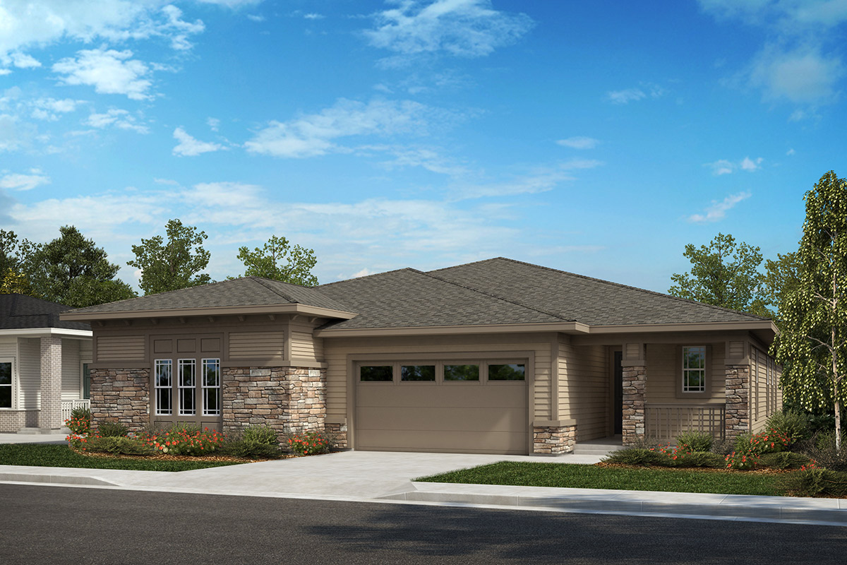 New Homes in Castle Rock, CO - Outlook and Compass - Elevation B