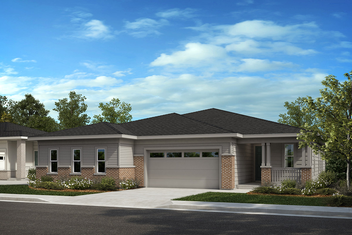 New Homes in Castle Rock, CO - Plan 1689 and Plan 1789 - Elevation C