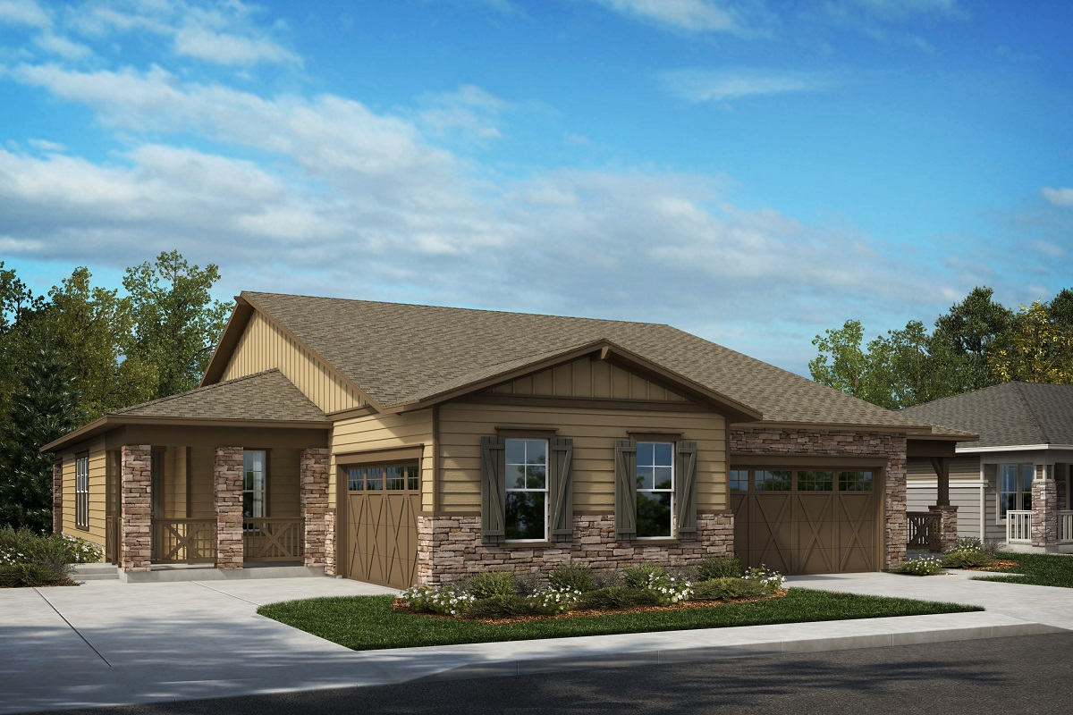 New Homes in Castle Rock, CO - Elevation A