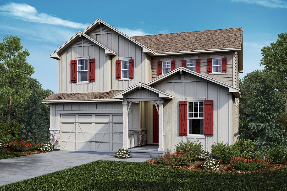 New Homes in Castle Rock, CO - Plan 2390 Elevation A