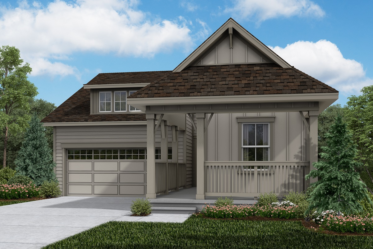 New Homes in Brighton, CO - Elevation A
