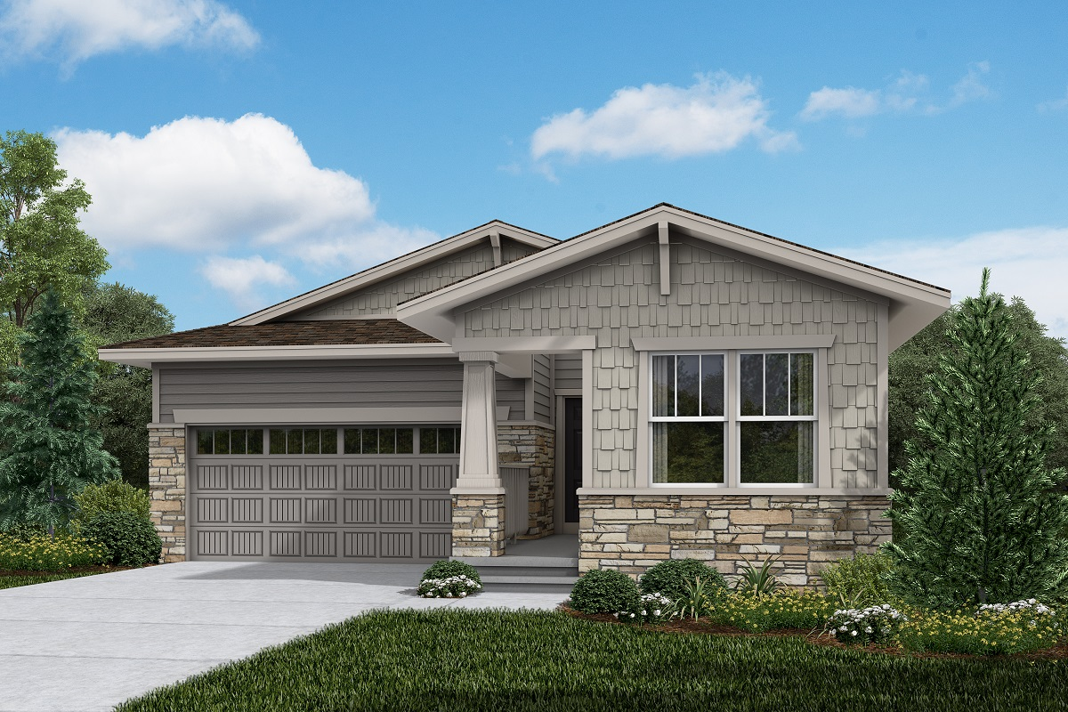 New Homes in Brighton, CO - Ambition - Elevation B