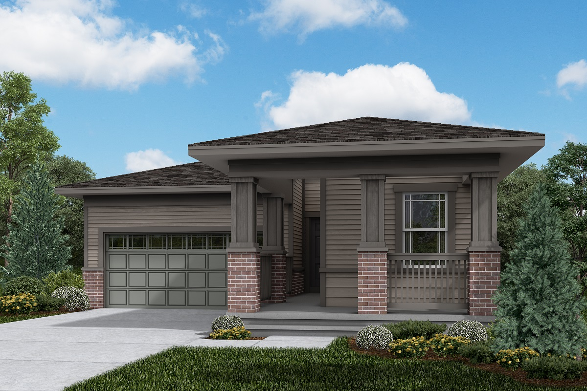 New Homes in Brighton, CO - The Villages at Prairie Center Plan 1382 Elevation C