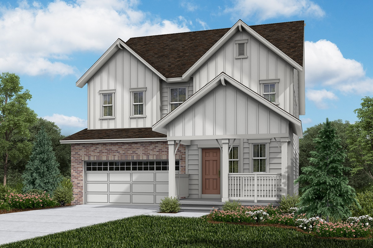 New Homes in Brighton, CO - Plan 2502 Elevation A
