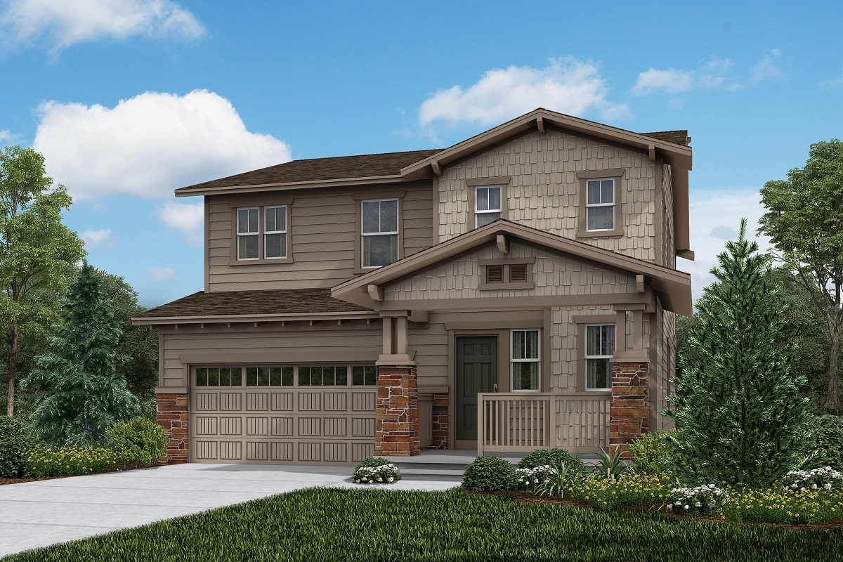 New Homes in Brighton, CO - The Villages at Prairie Center Plan 2502 Elevation B