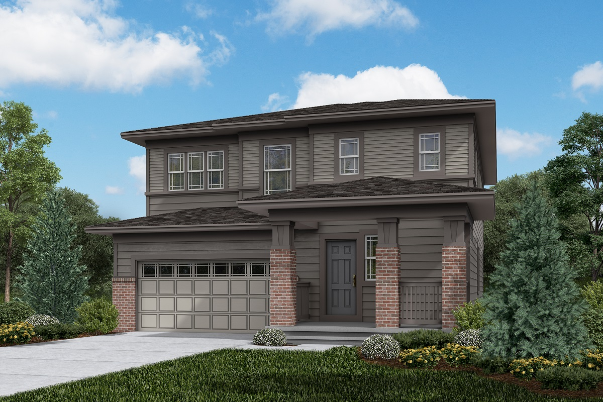 New Homes in Brighton, CO - Plan 2502 Elevation C