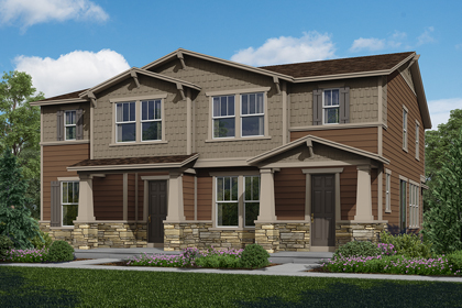 New Homes in Aurora, CO - Plan 1443 & Plan 1574