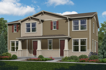 New Homes in Aurora, CO - Plan 1443 & Plan 1763
