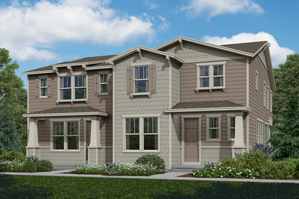 New Homes in Aurora, CO - Willow + Walnut