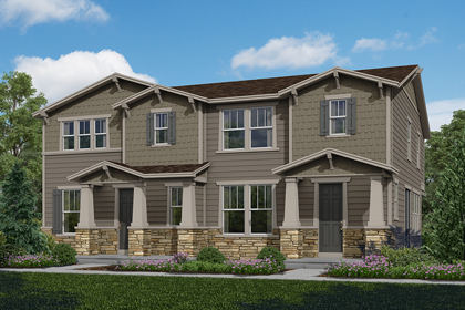 New Homes in Aurora, CO - Plan 1763 & Plan 1574