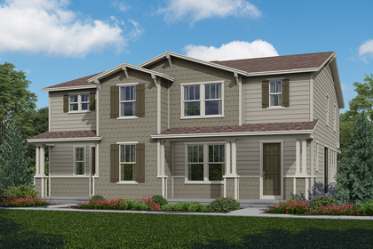 New Homes in Aurora, CO - Plan 1928 & Plan 1574
