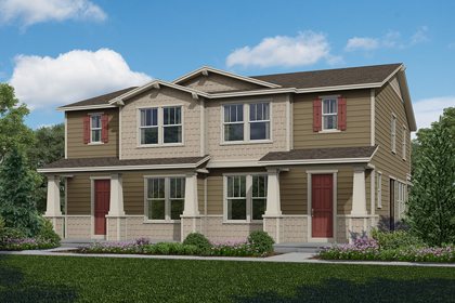 New Homes in Aurora, CO - Plan 1574 & Plan 1574