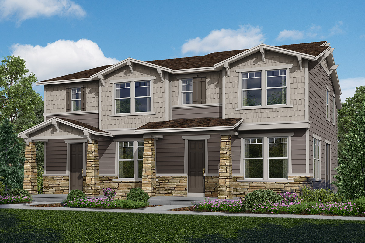 New Homes in Aurora, CO - Copperleaf Villas Plan 1574 & Plan 1682