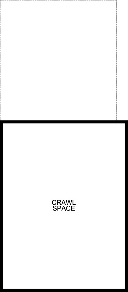New Homes in Aurora, CO - Plan 1682, Crawl Space