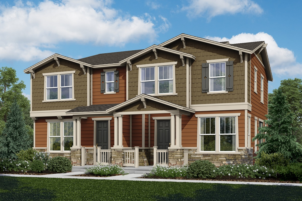 New Homes in Castle Rock, CO - Plan 1443 and Plan 1673