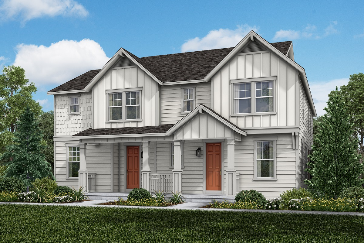 New Homes in Castle Rock, CO - Plan 1443 and Plan 1763