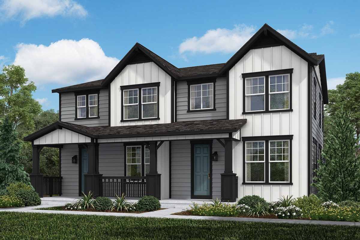 New Homes in Castle Rock, CO - Willow + Spruce