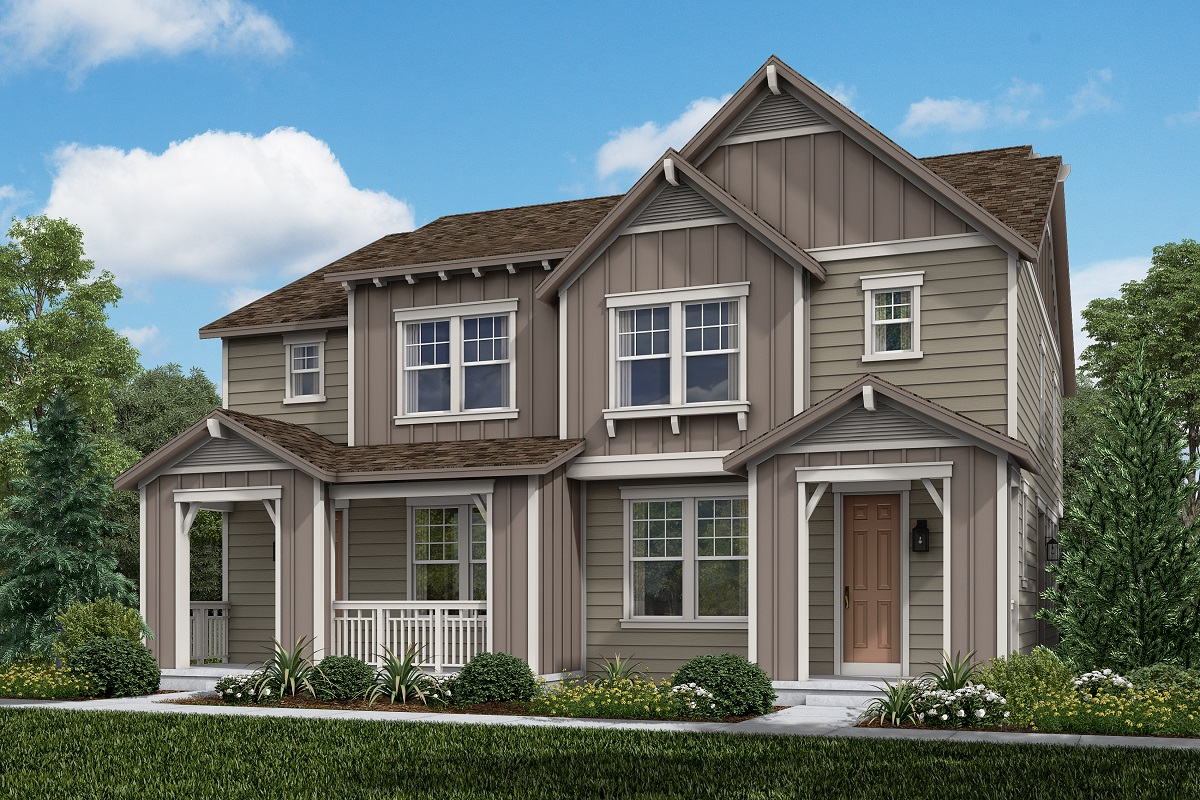 New Homes in Castle Rock, CO - Plan 1574 and Plan 1574