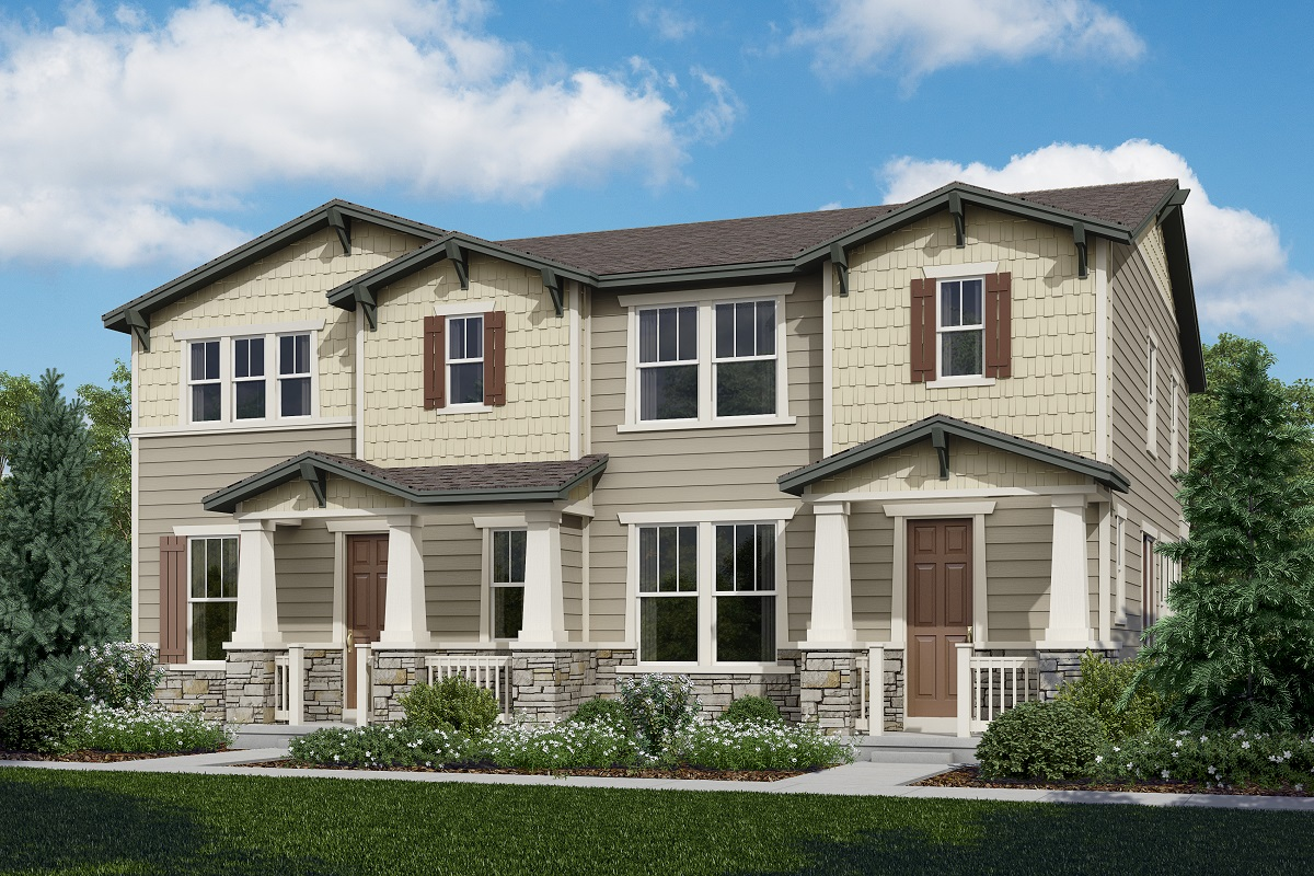 New Homes in Castle Rock, CO - Redwood + Spruce