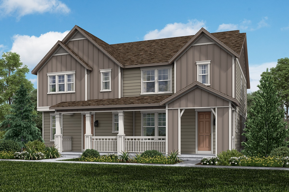 New Homes in Castle Rock, CO - Plan 1763 and Plan 1574