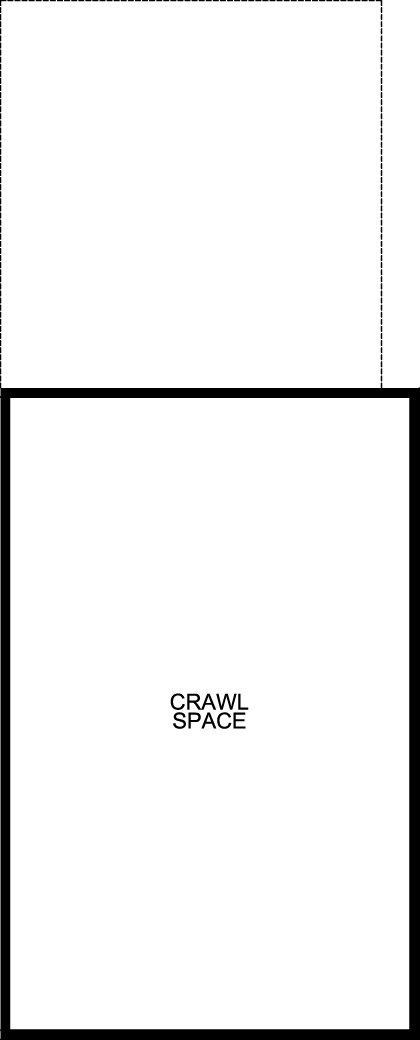 New Homes in Castle Rock, CO - Plan 1574, Crawl Space