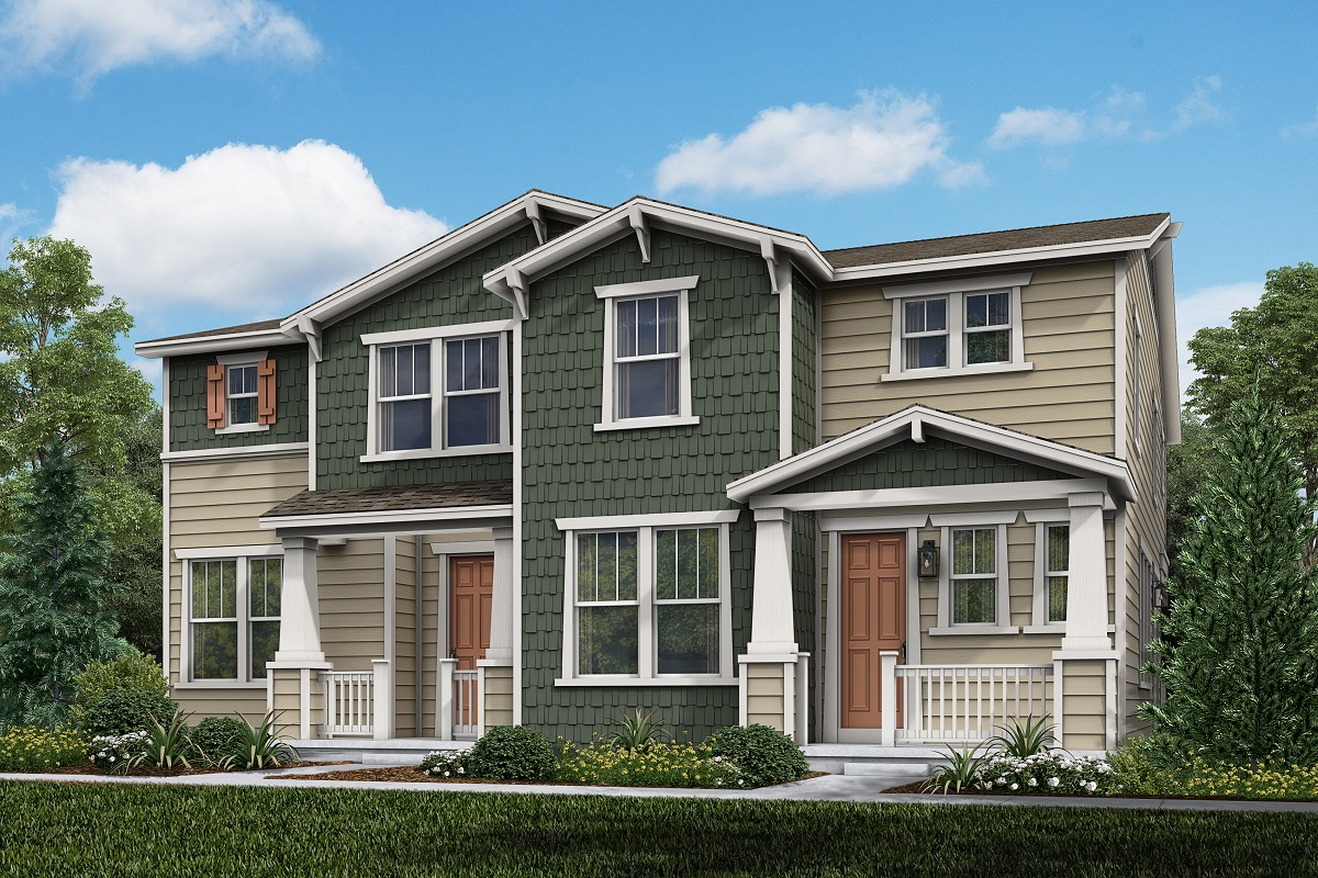 New Homes in Parker, CO - Plan 1885 & Plan 1468 Elevation 10A