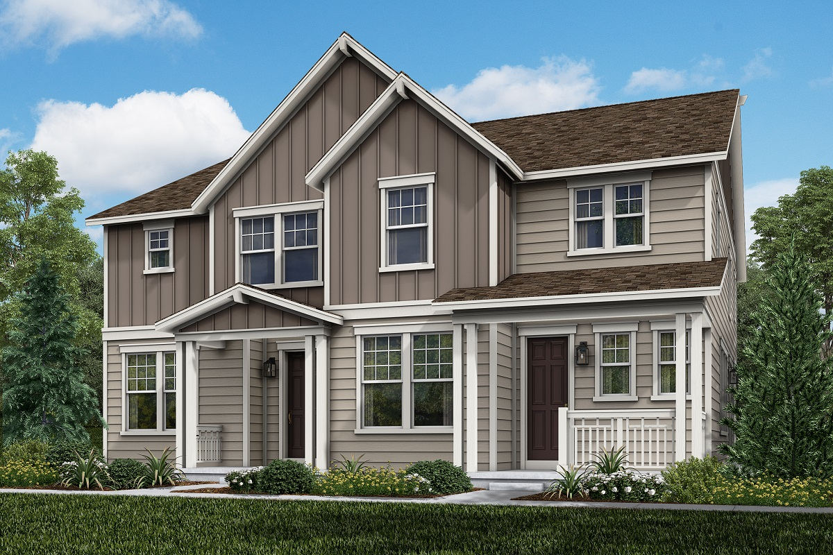 New Homes in Parker, CO - Plan 1885 & Plan 1468 Elevation 10B