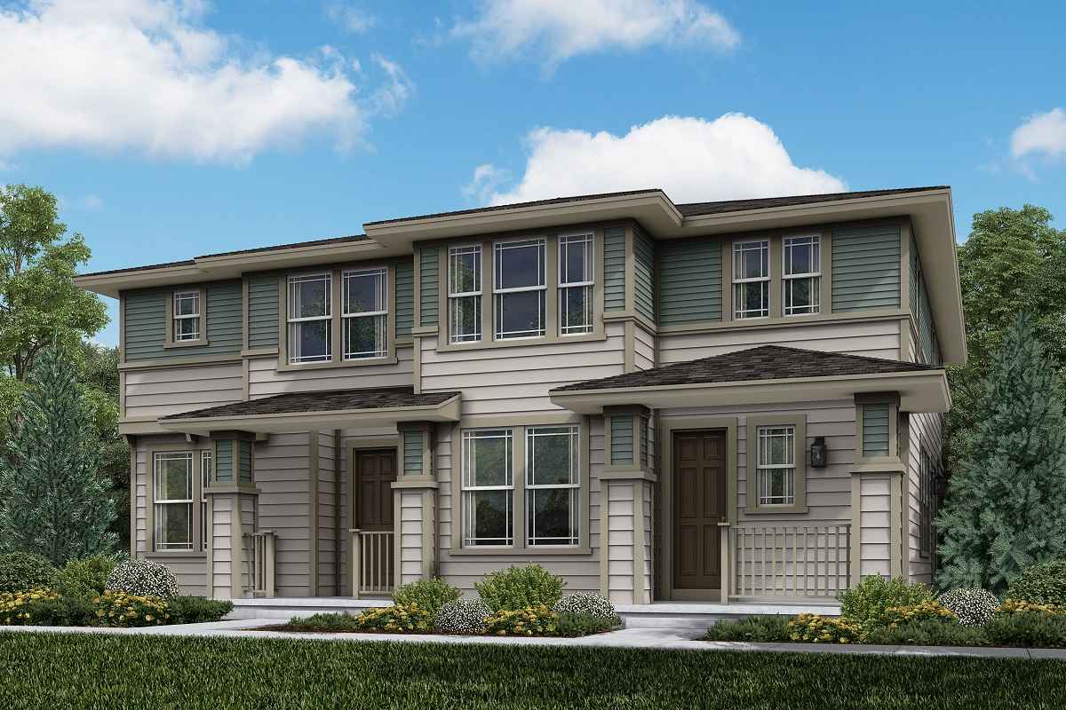 New Homes in Parker, CO - Plan 1885 & Plan 1468 Elevation 10C