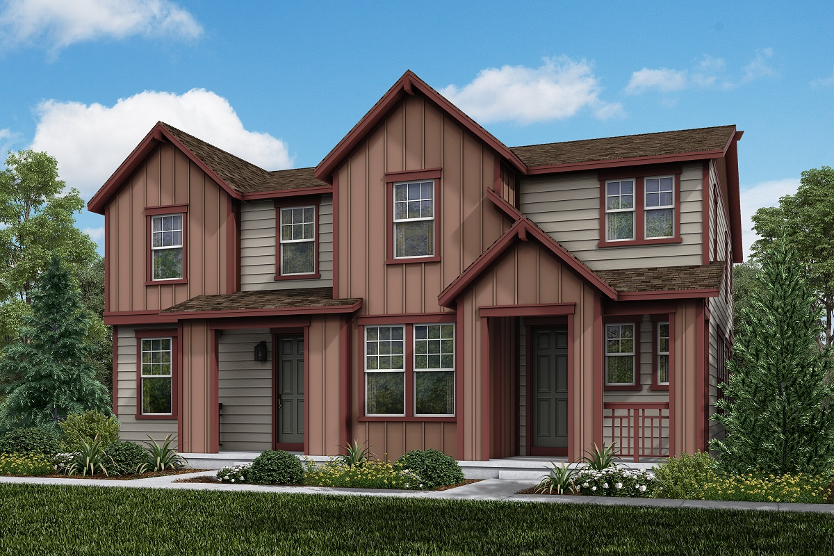 New Homes in Parker, CO - Plan 1885 & Plan 1671 Elevation 11B