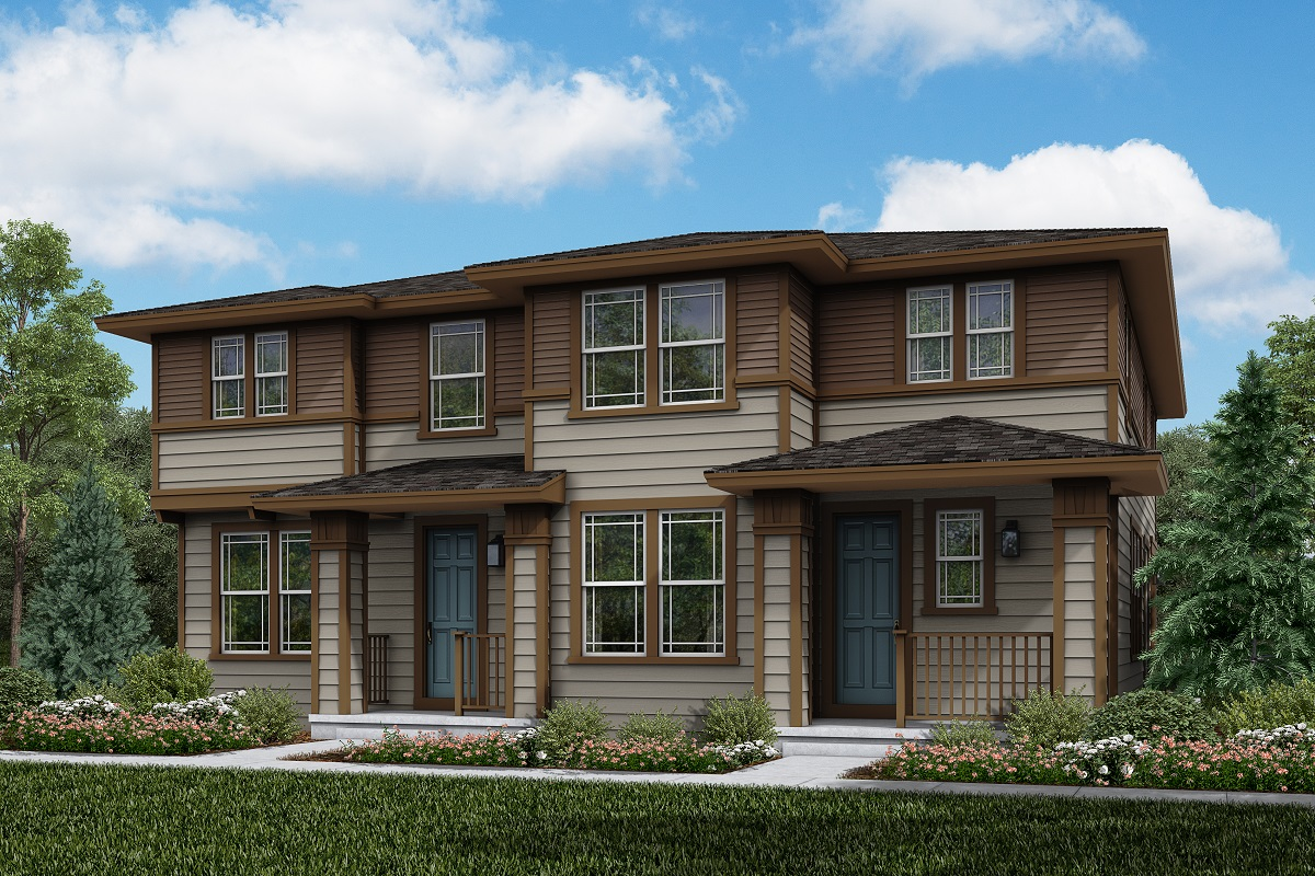 New Homes in Parker, CO - Plan 1885 & Plan 1671 Elevation 11C
